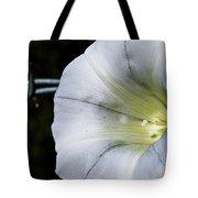 Barbed Flower Tote Bag