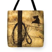 Barbed Landing Tote Bag