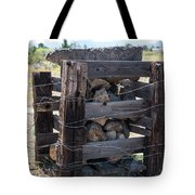 Barbed Wire Anchor Tote Bag