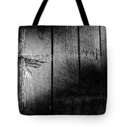 Barbed Wire Cross Tote Bag