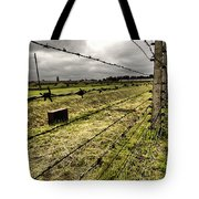 Barbed Wire Fence Tote Bag