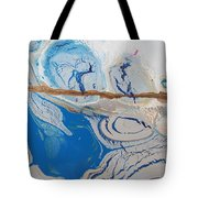 Barbed Wire Lovely Couple Tote Bag