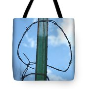 Barbed Wire Sky Tote Bag