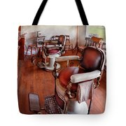 Barber - Please Have A Seat Tote Bag