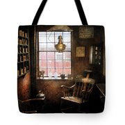 Barber - Remembering The Old Days Tote Bag