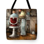 Barber - Our Family Barber 1935 Tote Bag