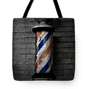 Barber Pole Blues  Tote Bag