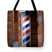 Barber Pole Tote Bag