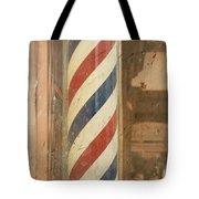 Barber Pole Tote Bag