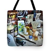 Barber Shop Tools Tote Bag