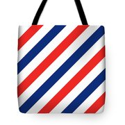 Barber Stripes Tote Bag