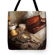 Barber - The Morning Ritual Tote Bag by Mike Savad