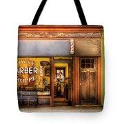 Barber - Towne Barber Shop Tote Bag