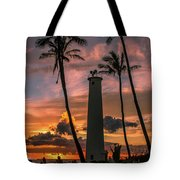 Barber's Point Lighthouse Tote Bag