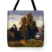 Barbizon Landscape Tote Bag