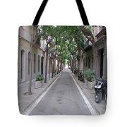 Barcelona Barrio Tote Bag