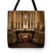 Barcelona Cathedral High Altar And St Eulalia Crypt Tote Bag