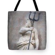 Barcelona - Neptune Statue Tote Bag