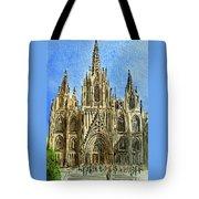 Barcelona Spain Tote Bag