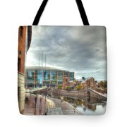Barclaycard Arena And The Malt House Pub Tote Bag