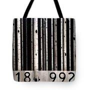 Barcode #19 Tote Bag