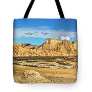 Bardenas Desert Panorama 3 Tote Bag