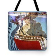 Bare Breasted Lady Tote Bag