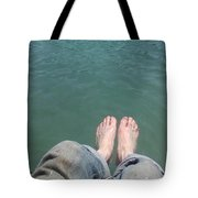 Barefoot In Nature Tote Bag