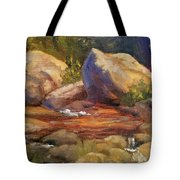 Barely A Trickle Tote Bag