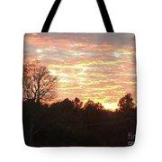 Barium Springs, Nc Sunset Tote Bag