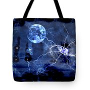 Bark At The Moon Tote Bag