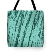 Bark Texture Turquoise Tote Bag