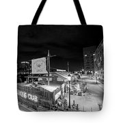 Barking Crab Boston Ma Black And White Tote Bag