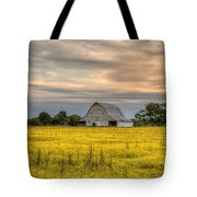 Barm In A Yellow Field Tote Bag