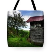 Barn After Rain Tote Bag