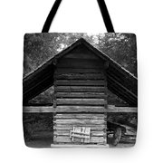 Barn And Wagon Tote Bag