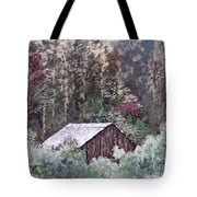 Barn At Cades Cove Tote Bag