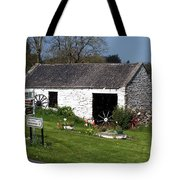 Barn At Fuerty Church Roscommon Ireland Tote Bag