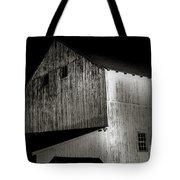Barn At Night Tote Bag