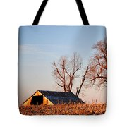 Barn At Sunrise Tote Bag