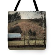 Barn At The Bottom Of The Hill Tote Bag