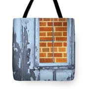 Barn Brick Window Tote Bag