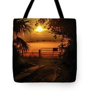 Barn Bridge Tote Bag