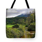 Barn By The Stream In Vermont Tote Bag
