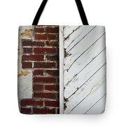 Barn Door Abstract Tote Bag