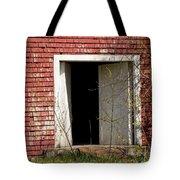 Barn Door And Cedar Tote Bag