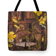Barn Door Hinge Tote Bag