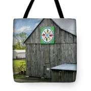 Barn Hex Sign Tote Bag
