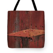 Barn Hinge Tote Bag by Garry Gay