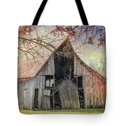 Barn Of The Indian Summer Tote Bag